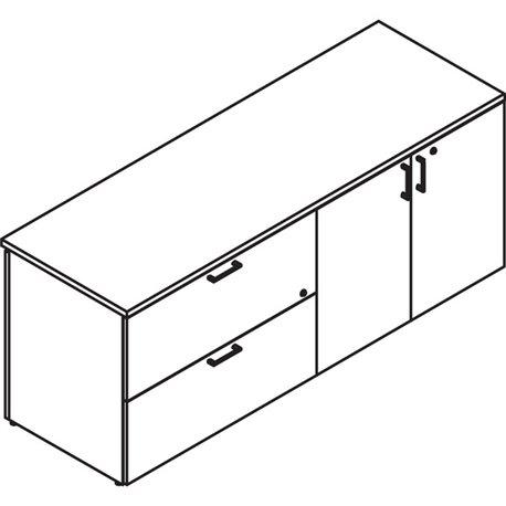 "MMF Jumbo Horizontal/Vertical Desktop Organizer - 11 Compartment(s) - 8.1"" Height x 30"" Width x 11"" Depth - Desktop - Non-skid B"